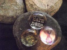 Glass Wicca Magnets bohemiangrove