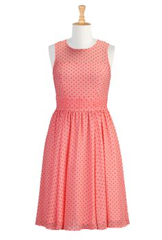 3d6fec62791 Swiss Dot Pastel Dresses