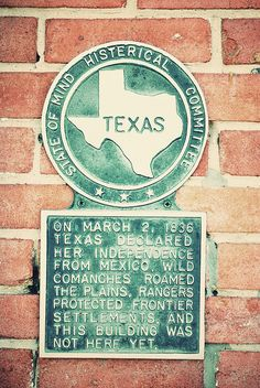 Texas Histerical Society - someone needs to learn to spell Historical.  lol