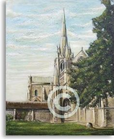 Chichester Cathedral, England. by Oil-Painter