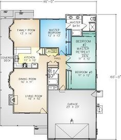 Riverbend Floor Plan from Pacific Modern Homes Inc.