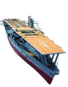 1:250 IJN Akagi scale model ship
