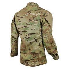 <p>TRU-SPEC is the first to take the newest ACU coat construction and build it out of a premium Army-approved MultiCam® pattern. The upper sleeve pocket features the updated zipper closure to stay silent and covert in the field. To meet the demand for more storage and patch space, the upper-sleeve pocket is also a full inch longer than on the previous uniform. The redesigned collar removes the Mandarin style in favor of a traditional fold-down to promote a neat, professional appearance.... Tactical Clothing, Tactical Gear, Military Style Jackets, Military Jacket, Uniform Shirts, Army Uniform, Air Force Uniforms, Special Forces Gear, Combat Shirt