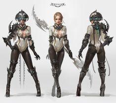 ArtStation - Devilian Tempest, 2015, Taehyun King