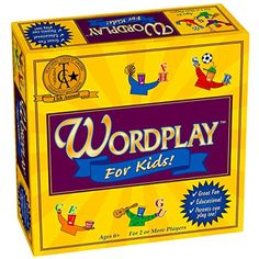 Wordplay For Kids Board Game * Check out the image by visiting the link. (This is an affiliate link and I receive a commission for the sales) #Games