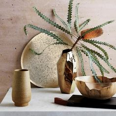 Embrace the calm the Japanese philosophy of wabi sabi offers with our 8 freshest zen decorating ideas. Here's how to create a cool oasis. Home Interior Design, Interior Decorating, Decorating Ideas, Interior Ideas, Interior Inspiration, Decor Ideas, Room Ideas, Gold Vases, Light Garland