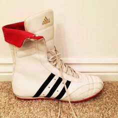 92f9030b21a3 Adidas women s boxing boots- Size 5. ...