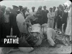 1928 Frank Lockhart Fatal Crash, Speed Record Attempt on Daytona Beach.