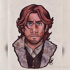 @thatNatRodgers posted to Instagram: I'm still pretty happy with my old Caleb Widogast portrait. I didn't think it'd be so much fun to draw a dirty wizard. #criticalrole #Critter #calebwidogast #caleb #dnd #criticalrolefanart #dungeonsanddragons #ravensribbon #myart #liamobrien #coloredpencil #mixedmedia Critical Role Campaign 2, Critical Role Fan Art, Liam O Brien, Ashley Johnson, Great Grey Owl, Toned Paper, Gray Owl, Dungeons And Dragons, Drawings