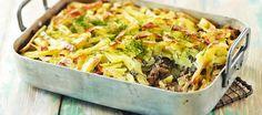 Tonnikalakiusaus   Pääruoat   Reseptit – K-Ruoka Tasty, Yummy Food, Easy Cooking, Diy Food, Herbal Remedies, Lasagna, Macaroni And Cheese, Herbalism, Cabbage