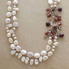 PEARL MELANGE NECKLACE - Multi-Strand - Necklaces - Jewelry | Robert Redford's Sundance Catalog