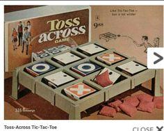 70s Toss-Across Tic-Tac-Toe