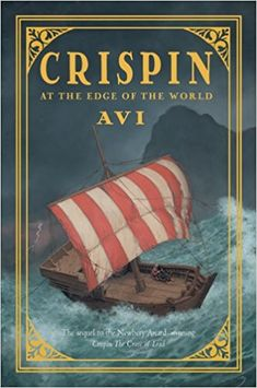 Crispin: At the Edge of the World by Avi. Bear is being pursued by members of the secret brotherhood who believe he is an informer. When Bear is badly wounded, it is up to Crispin to make decisions about their future—where to go, whom to trust. (15. April 2018)