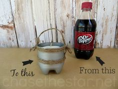 Repurposed Soda Bottle Craft