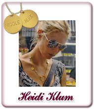 Heidi Klum Namen Gravur