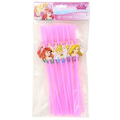disney princess flexible straws 18 ct packs disney princess characters disney princess
