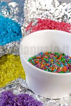 Colorazione del riso