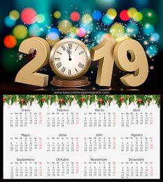 Imágenes, fotos, ilustraciones, tarjetas, fondos y wallpapers para toda ocasión. Happy New Year Wishes, Happy New Year 2019, Christmas And New Year, Christmas Holidays, Happy Holidays, Congratulations, Calendar, Greeting Cards, Wallpaper