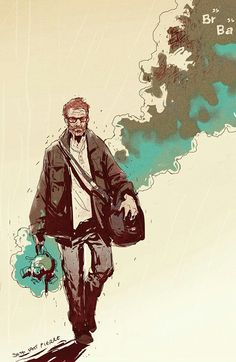 Breaking bad art - Walter