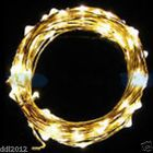 2M String Fairy Light 20 LED Battery Operated Xmas Lights Party Wedding Lamp US