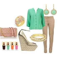 i love this whole outfit but really i just want those shoes :)