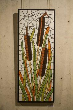 MOSAIC - ceracmic tiles Mosaic Projects, Mosaic Ideas, Tiles, House, Painting, Art, Mosaics, Wall Tiles, Home