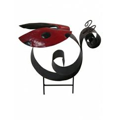 "Alpine 12"" Tall Ladybug Garden Stake at Garden and Pond Depot"