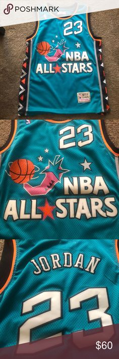 Mitchell and ness Michael Jordan all star jersey Mitchell and ness Micheal Jordan  NBA All Star 132b00cd9