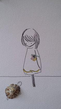 acf917cadf65 Mari. Illustrations. Righecolorate. Maricreations.com