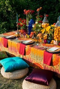 unique wedding seating ideas geoff chesman visuals Bohemian Wedding Ideas