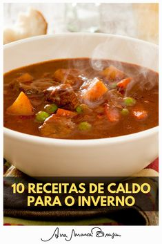 Mexican Food Recipes, Soup Recipes, Great Recipes, Healthy Recipes, Cooking Joy, Gastronomy Food, Crock Pot Soup, I Love Food, Food And Drink