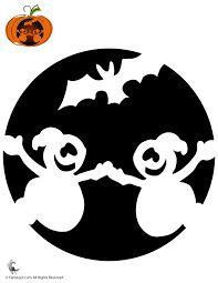 Risultati immagini per Stencil Halloween