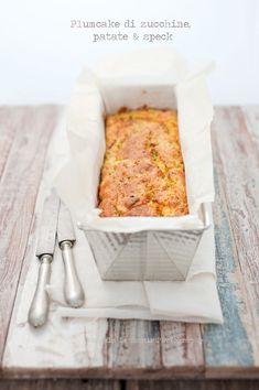 ... zucchini potatoes and bacon plum cake ...