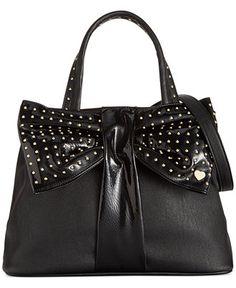 Betsey Johnson Bow Tie Shopper - All Handbags - Handbags & Accessories - Macy's