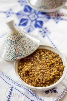 Lentilles à la Marocaine Cuisine Diverse, Vegan Recipes, Cooking Recipes, Happy Foods, Nutribullet, Chana Masala, Vegan Vegetarian, Food To Make, Food And Drink