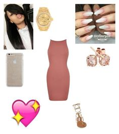 """Deserve"" by lailazariel ❤ liked on Polyvore featuring River Island, Steve Madden, Rolex, Reeds Jewelers and Case-Mate"