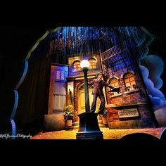 Singin' in the Rain Scene at The Great Movie Ride at Disney's Hollywood Studios, Walt Disney World, FL, Photo by Keith Burrows