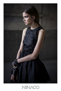 Nina Hirvonen   Finnishdesigners www.ninaco.co Natural Women, Couture Dresses, Collection, Black, Fashion, Moda, High Fashion Dresses, Black People, Fashion Styles