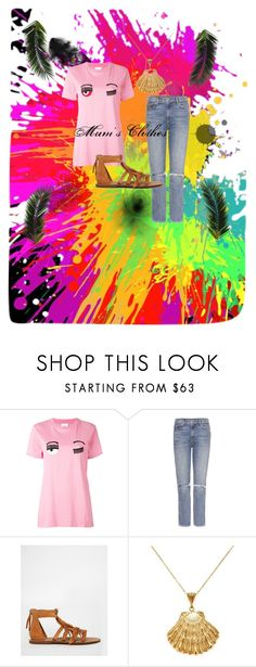 """""""Mum's Clothes"""" by cactusboy on Polyvore featuring Chiara Ferragni, GRLFRND, MANGO and Ottoman Hands"""