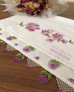 652 Likes 7 Comments Needlework Towel Yemeni Writing (. Needle Lace, Bargello, Filet Crochet, Needlework, Diy And Crafts, Kitchen Decor, Decorative Boxes, Towel, Floral