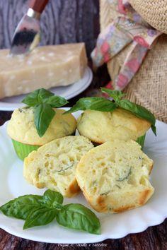 muffin salati parmigiano e basilico 1