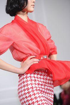 dior pied de poule skirt  www.modadesnuda.wordpress.com