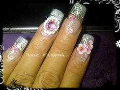 Rose, aries, diamond, neon guava, ultra white.......Organicnails