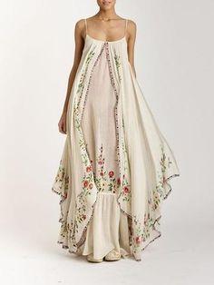 Wedding Boho Chic Dress Gowns Ideas For 2019 Gypsy Style, Bohemian Style, Boho Hippie, Hippie Masa, Bohemian Skirt, Boho Fashion, Fashion Dresses, Fashion Design, Unique Fashion