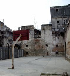 Havana, Cuba ~I'd like to play a pick up game here...anywhere, I love street Basketball