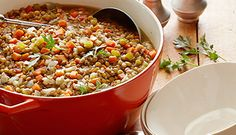 Check out this really easy recipe for Lentil Quinoa Soup. You are going to love it!