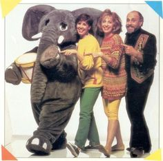 """ Sharon, Lois, and Bram's The Elephant Show! I loved this show! I wanted to be a part of their group when I grew up! lol I sing the intro to this show to my kids all the time and they think I am wierd. 90s Childhood, My Childhood Memories, Sweet Memories, It's Over Now, Back In My Day, This Is Your Life, 90s Nostalgia, 80s Kids, Down South"