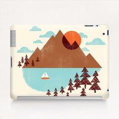 """Indian Summer"" Tablet Cases by Jenny Tiffany on Artsider.com"