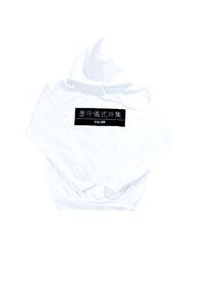 Ritual Union — White Box Hoodie  #streetwear #streetwearfashion #street #streetstyle #veryrare #menswear #supremenyc #pigalle #outfitoftheday #pyrex #pyrexvision #beentrill #givenchy #supreme #balmain #hba #hoodbyair #rhude #hypebeast #outfitgrid #ktz #kanyewest #yeezy #yeezus #asaprocky  #blackfashion #givenchy #mensfashion #highsnobiety