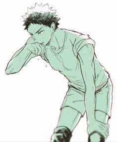 iwaizumi, sweating, はいきゅろぐ [2], http://www.pixiv.net/member_illust.php?mode=manga&illust_id=55354834